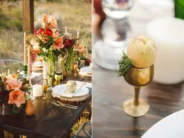glittery thanksgiving wedding ideas ruffled