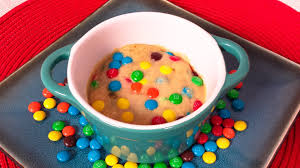 rainbow microwave cookie no bake cookie in a mug from cookies