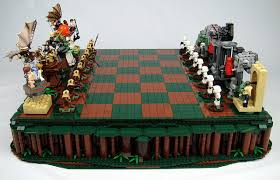 lego return of the jedi chess set amazing quality the bearded trio