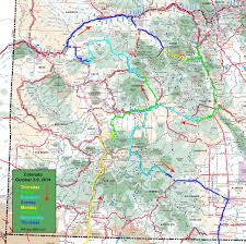Dolores Colorado Map by Bosque Bill U0027s Backroads In Search Of Autumn Color Colorado