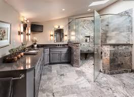 frameless glass shower doors in bathroom contemporary with corner