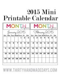 mini calendar template updated printable calendar 2014 the o jays printable calendars