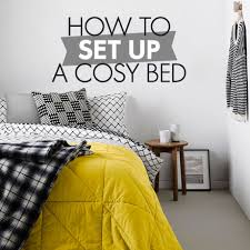 How To Set A Bed How To Set Up A Cosy Bed Woolworths Co Za