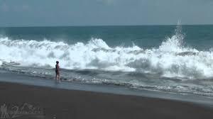 Where Is The Black Sand Beach Monterrico Beach Guatemala Travel Video Ep 10 Youtube