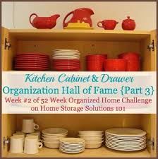Cabinet Organization Kitchen Drawer And Cabinet Organization Before And After Pictures