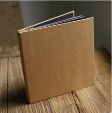 self adhesive photo album pages vintage blank kraft paper inside self adhesive album diy
