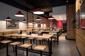 Fast Casual Restaurant Interior Design Free Food At The New Verts A Fast Casual Mediterranean Eatery