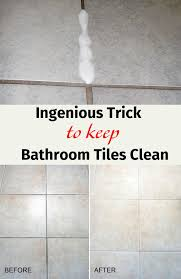 simple cleaning simple bathroom tile cleaning tips bathroom
