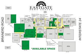 Eastgate Mall Floor Plan Eastgate Town Center Layout