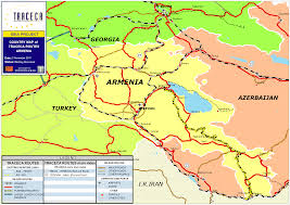 Map Of Armenia Gis Database Maps Downloads Traceca Org
