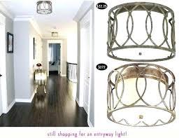 semi flush mount foyer light flush mount foyer light foyer flush mount lighting flush mount and
