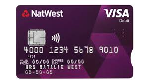 debit card for new bank card for blind and partially sighted rnib