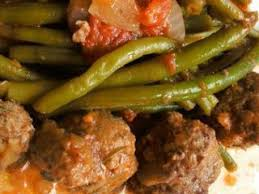 cuisiner des boulettes de boeuf haricots verts et boulettes de boeuf recette ptitchef