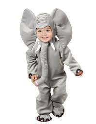 charades cute boys girls elephant halloween costume kids sz 6 8