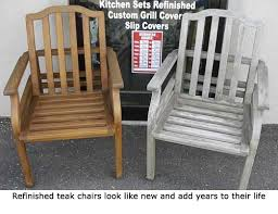 Refinishing Patio Furniture by Refinish Teak Furniture Outdoor Furniture Repair Teak Restoration