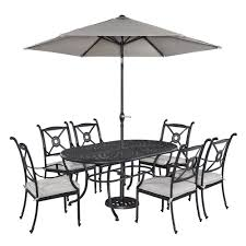 Outdoor Patio Set With Umbrella Rust Resistant Patio Dining Sets Patio Dining Furniture The