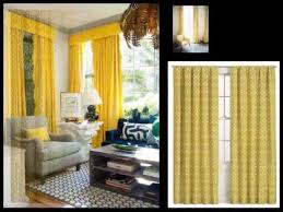 Yellow Window Curtains Yellow Curtains Drapes Window Treatments