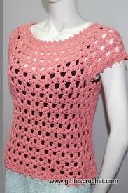 crochet blouses lea blouse