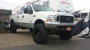 Ford F250 Work Truck - 2000 f250 7 3 4 inch lift 325 85r16 michelin xml trucks