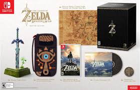 the legend of zelda breath of the wild u0027s collector u0027s edition