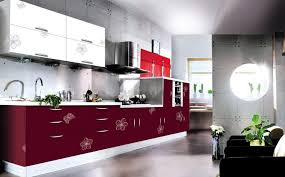 Acrylic Cabinet Doors Modern Open Style Kitchen Cabinet Acrylic Doors Design Kitchen
