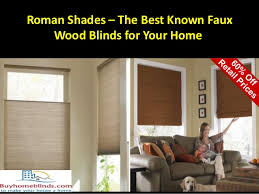 Discount Faux Wood Blinds Shades U2013 The Best Known Faux Wood Blinds For Your Home