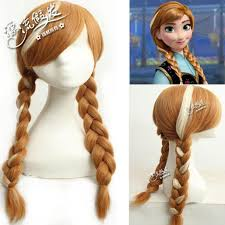 anna from frozen hairstyle cosplay hair wig frozen anna rambut end 4 27 2018 10 27 am