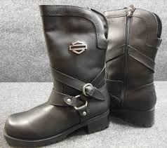 womens boots size 8 9 ebay s harley davidson harness boots size 9 black