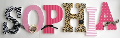 Decorating Wooden Letters For Nursery Pin By Pat Quaring On Letters Monograms Pinterest Letter