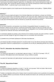 chambre d agriculture 60 loi n portant statut des chambres d agricult ure pdf
