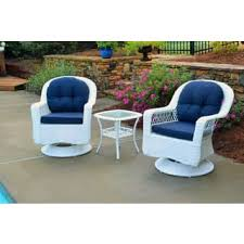 White Wicker Patio Furniture Shop The Best Outdoor Seating - Outdoor white wicker furniture
