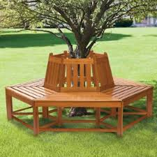 bench furniture ideas bench that goes around a tree