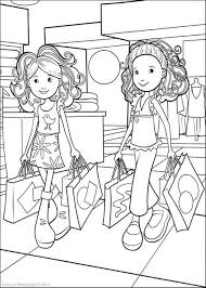 print u0026 download barbie coloring pages girls