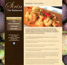 thai restaurant website in morristown nj wordpress website