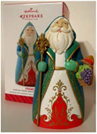 hallmark keepsake ornament santas from around the