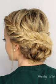 prom updo instructions braided updo