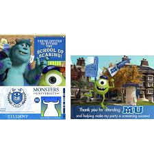 monsters university party supplies monsters university