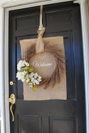 two it yourself diy front door spring wreath