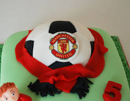 manchester united football birthday cake a photo on flickriver