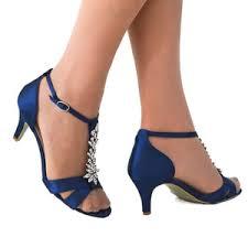 wedding shoes royal blue matilda silver diamante strappy sandal bridal shoes weddingshoes