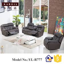 Theater Sofa Recliner Power Recliner Motion Sofa 3 Seater Leather Living Room Furniture
