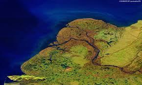 Yukon River Map Yukon Delta Alaska Proba V
