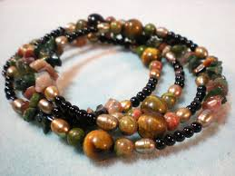 make beaded bracelet wire images How to make a memory wire beaded bracelet jpg
