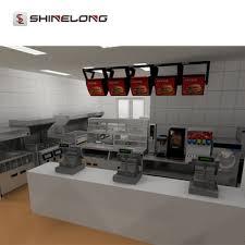 equipement cuisine commercial qualité assurée commerciale rapide alimentaire burger restaurant