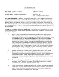 objective for paralegal resume resume sample of a paralegal with