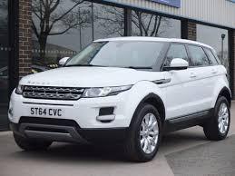 land rover evoque white used land rover range rover evoque 2 2 sd4 pure tech 5 door auto