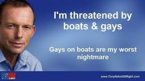 Boat People Meme - i m threatened by boats gays gays on boats are my worst nightmare
