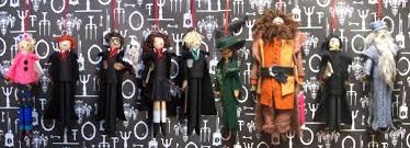 harry potter character clothespin dolls clothes pin crafts