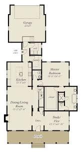 Main Level Floor Plans Benning Southern Living House Plans