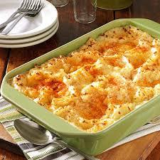 easy thanksgiving side dishes make ahead make ahead potatoes recipe taste of home